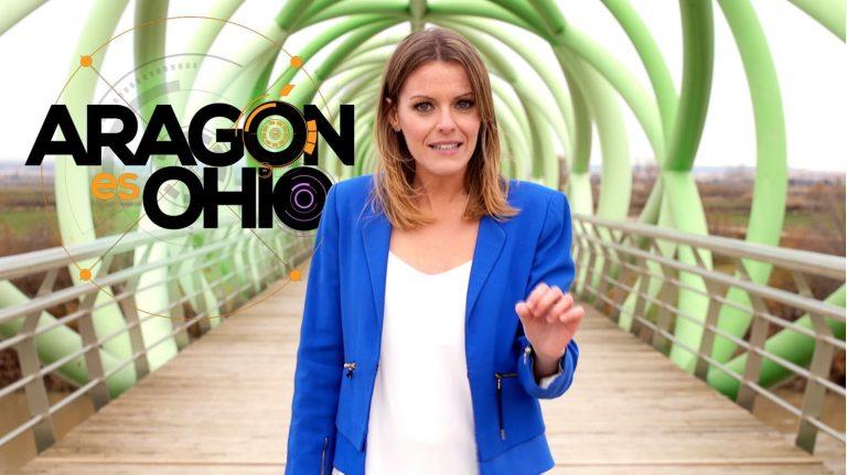 Andrea Ropero presentadora de Aragón es Ohio