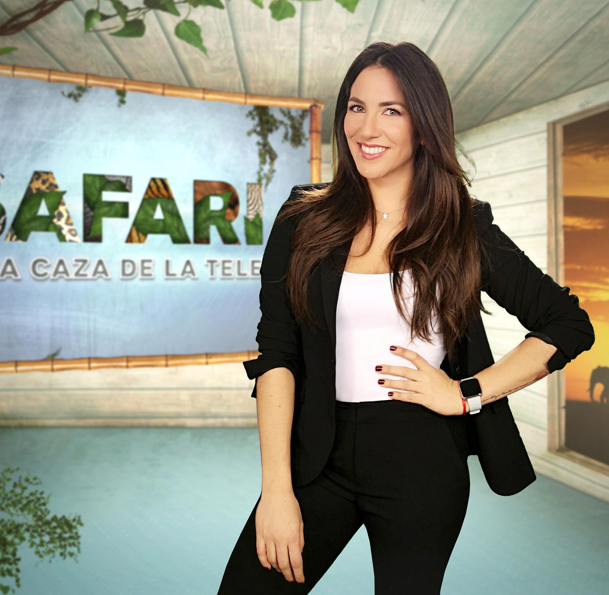 Irene Junquera presentadora de Safari