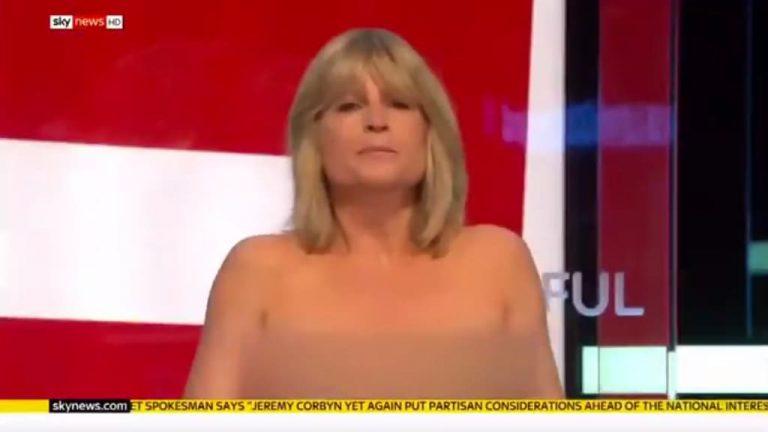 presentadora sky news se desnuda